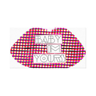 Baby I'm Yours Alt 2 Canvas