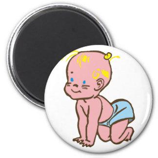 Baby infant fridge magnet
