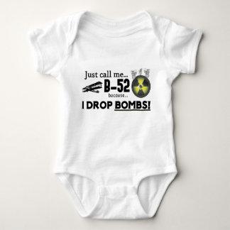 Baby Infant Onsie - Funny B-52 Bomber Baby Bodysuit