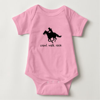 Baby Infant Shirt Future Barrel Racer Cowgirl