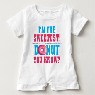 Baby is The Sweetest - Donut You Know | Adorable Baby Bodysuit