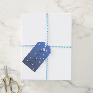 Baby, it's cold outside - Christmas Gift Tags