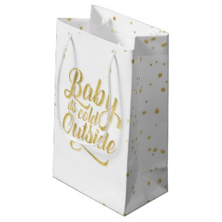 Baby its Cold Outside Gift Bag