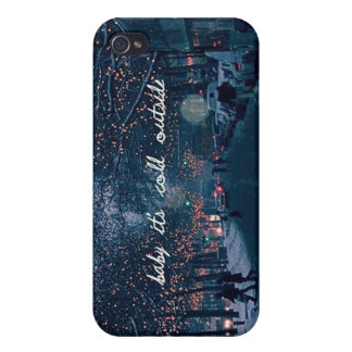 baby its cold outside iPhone 4/4S covers