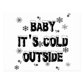 Baby It's Cold Outside Merchandise Postcards