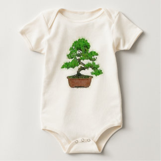 Baby Japanese Bonsai Tree Organic Bodysuit