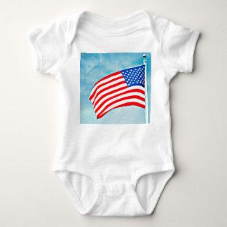 "Baby Jersey Bodysuit ""America Made"""