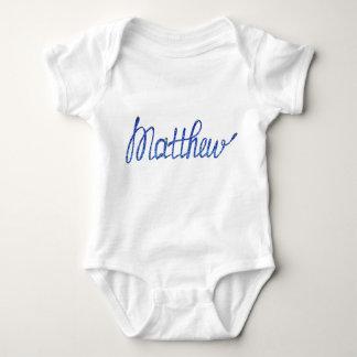 Baby Jersey Bodysuit Matthew