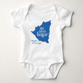 Baby Jersey Bodysuit NICARAGUA