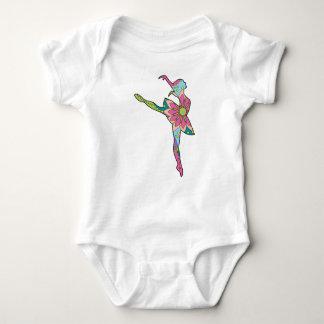 Baby Jersey Bodysuit with ballet dancer
