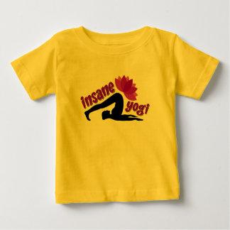 Baby Jersey T-Shirt with Insane Yogi sign