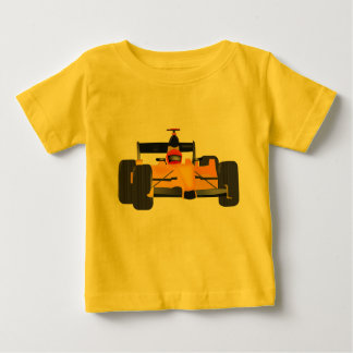 Baby jersey with race car grphic on front. baby T-Shirt