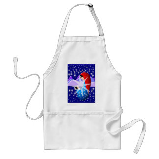 Baby Jesus and Virgin Mary in Starlight Standard Apron