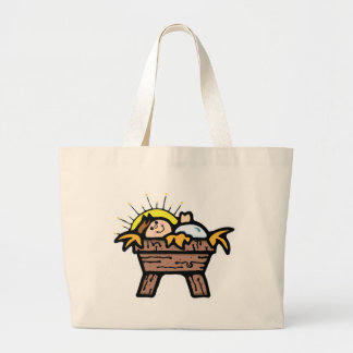 baby jesus canvas bags
