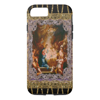 Baby Jesus Born to Save iPhone 8/7 Case