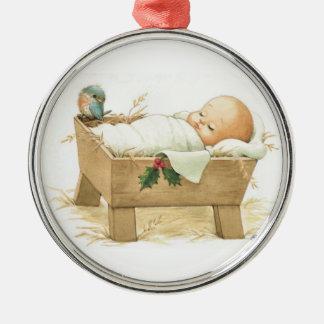 Baby Jesus Christmas Ornament