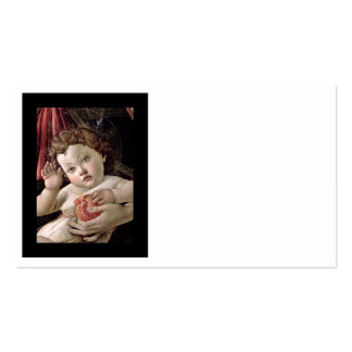 Baby Jesus Holding Pomegranate Pack Of Standard Business Cards
