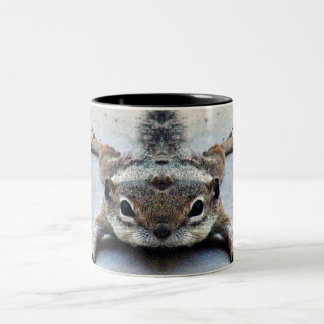 Baby Joey Ground Squirrel Coffee Cup/Mug Two-Tone Coffee Mug