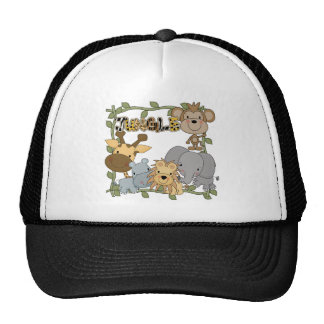 Baby Jungle Animals Tshirts and Gifts Trucker Hat
