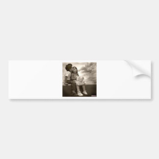 baby kiss bumper sticker