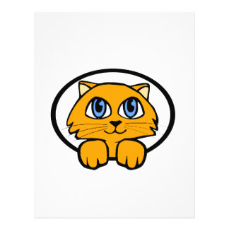Baby Kitten Cartoon 21.5 Cm X 28 Cm Flyer