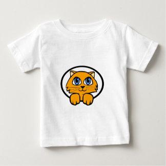 Baby Kitten Cartoon Baby T-Shirt
