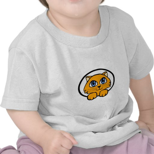 Baby Kitten Cartoon T-shirt