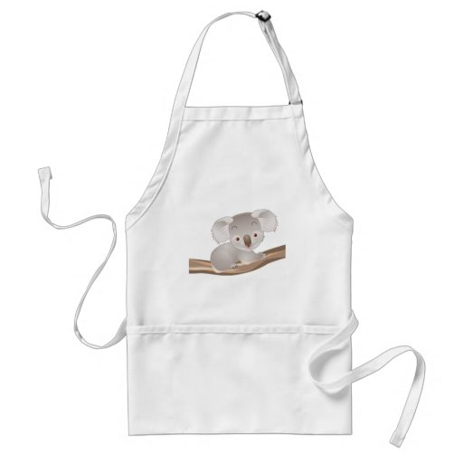 Baby Koala Adult Apron
