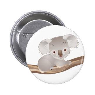 Baby Koala 6 Cm Round Badge