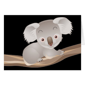Baby Koala Card