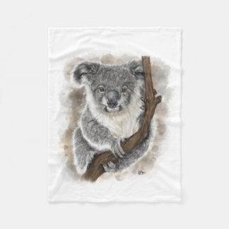 Baby Koala Fleece Blanket