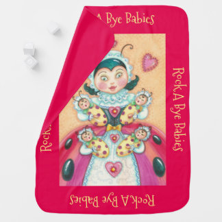 Baby Ladybugs ULTRA SOFT BABY BLANKET *Personalize