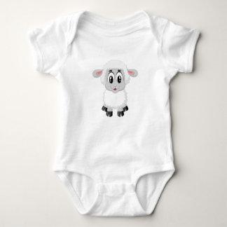 Baby Lamb Jersey Bodysuit