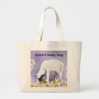 Baby Lambs first steps Tote Bag
