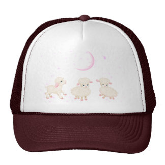 Baby Lambs Mesh Hats