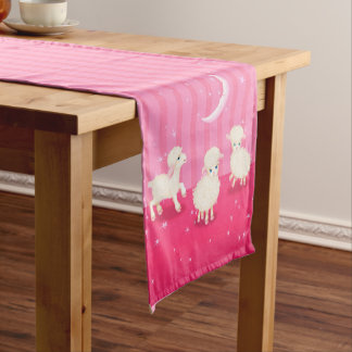 Baby Lambs Short Table Runner
