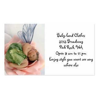 Baby Land Clothes Pack Of Standard Business Cards