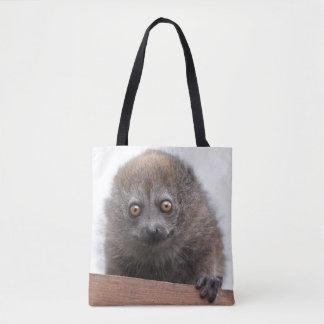 Baby Lemur All Over Print Bag