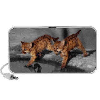 Baby Leopards iPod Speakers