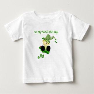 Baby Leprechaun 1st St. Patricks Day T-shirt