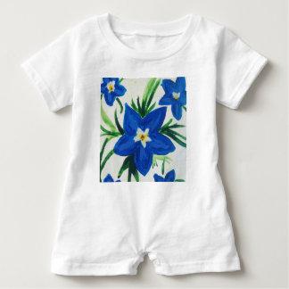 Baby Lily Flower Baby Bodysuit