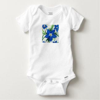 Baby Lily Flower Baby Onesie