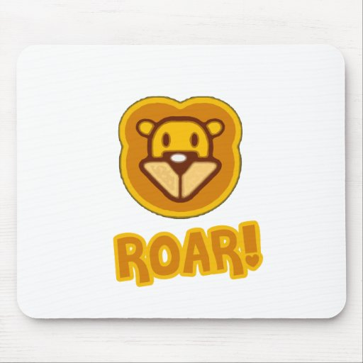 Baby Lion Cartoon Mouse Pad