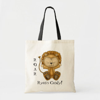 Baby Lion-Halloween Goody Bag/Personalize Budget Tote Bag
