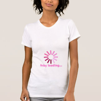 Baby Loading - pink Tees
