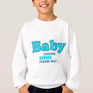 Baby Loading Please WAIT pregnancy birth Sweatshirt