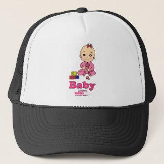 Baby Loading Please WAIT pregnancy birth Trucker Hat