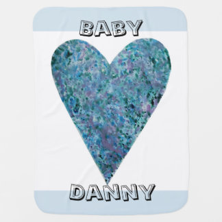 Baby Love (Customisable) Baby Blanket