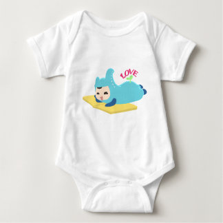Baby love reading baby bodysuit