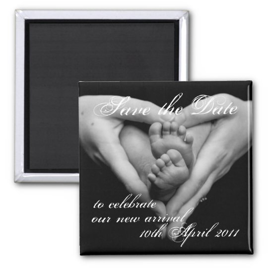 Baby Love, Save the Date Magnet